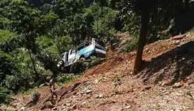 Nepal bus crash kills 11, injures over a hundred