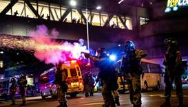Petrol bombs thrown in Hong Kong metro, no one injured: govt