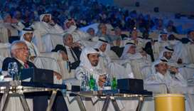 Qatar Olympic Committee President HE Sheikh Joaan bin Hamad al-Thani and Senior Vice-President & Act