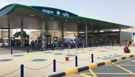 Woqod's new Al Thumama 3 petrol station.