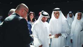 The function was attended by several Arab novelists, critics and academics.