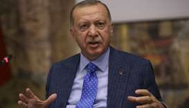 Turkey won't back down from Syria offensive: Erdogan