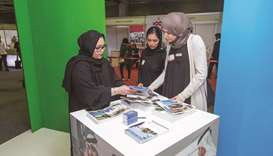 Preparations underway for University Expo Qatar.