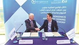 QBRI in research partnership with global biotech company