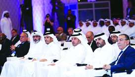 HE the Prime Minister and Interior Minister Sheikh Abdullah bin Nasser bin Khalifa al-Thani, HE the