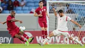 World Cup 2022 Asian qualifying match between Qatar and Oman at Janoub Stadium