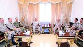 Chief of Staff meets Commander of US Marine Corps Forces, US defence delegation