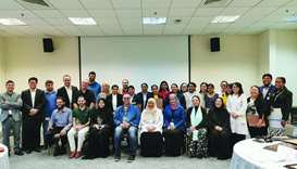 HBKU concludes workshops with HMC Nursing Informatics Dept