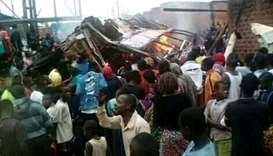 30 killed in DR Congo bus accident