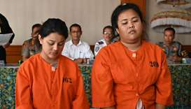 Thais, Frenchman could face firing squad in Bali meth cases