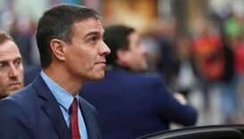 Spain's acting Prime Minister Pedro Sanchez