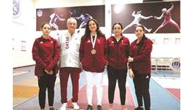 Ameera wins bronze at GCC Women's Games