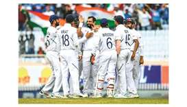 Dominant India on brink of sweep over South Africa