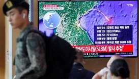 North Korea fires ballistic missile ahead of nuclear talks