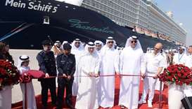 Cruise season kicks off with launch of new passenger terminal at Doha Port