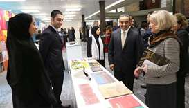"Qatar has opened in Geneva an exhibition entitled ""Qatar: The Past, Present, and Future"""