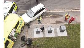 Two held after Oslo ambulance rampage