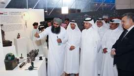 Scrap Art Exhibition opens at Souq Waqif