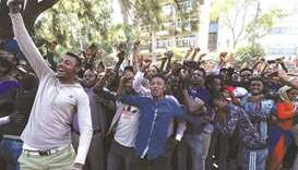 Protests spread after stand-off in Ethiopia
