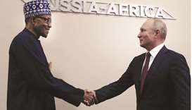 Putin applauds ties with Africa at Sochi summit