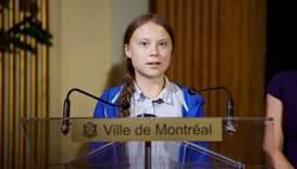 Teen climate activist Thunberg leads climate rally in Vancouver