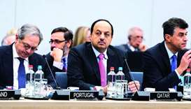 Qatar takes part in Nato meeting in Brussels