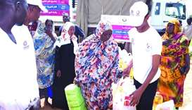 Qatar Charity extends assistance to Sudan flood victims