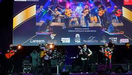 Gipsy Kings performance at Al Mayassa Theatre