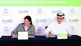 Gord signs agreement with Unesco