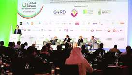 A panel discussion on the second day of the summit.