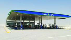 A view of the Bul Hemmaid Petrol Station opened by Woqod.