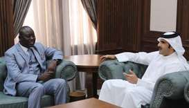 QMC CEO meets Gambian minister