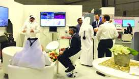 Visitors throng MME pavilion
