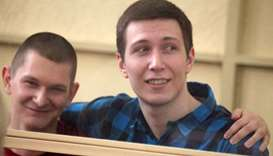 Russia jails two men for six years over 'mass riots'