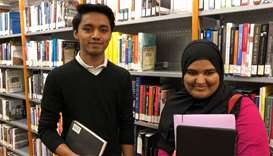 GU-Q students win research grant