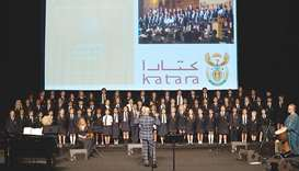 Sherborne Qatar pupils galvanise audience at choir music event