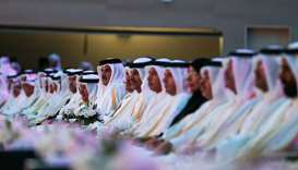 Amir patronises QU male graduation ceremony