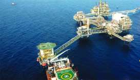 Idd El Shargi is located offshore about 85 kilometres east of Doha. It is one of Qatar's largest oil