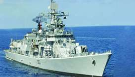 Indian Navy ship to arrive at Hamad Port on Wednesday