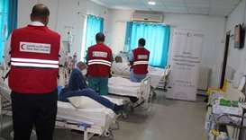 QRCS life-saving Primary Healthcare for Syrian refugees in Al Za'tari camp in Jordan