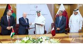 Pact signed to promote Qatar-Jordan legal ties