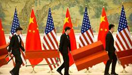 US adds eight Chinese firms to trade blacklist
