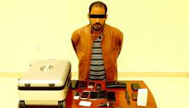 The accused used to steal items from unlocked cars in the evening period while roaming residential a