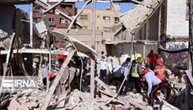 Gas explosion hits market, kills at least 5 in southwest Iran