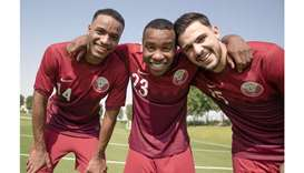 Players from the Qatar national team.