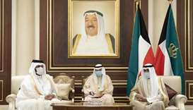 HH the Deputy Amir offers condolences to Amir of Kuwait
