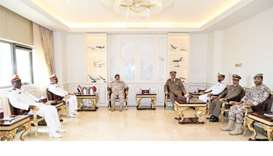 Chief of Staff of Qatari Armed Forces meets Commander of Sudan Naval Forces
