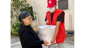 QRCS works with Albanian Red Cross to support Covid-19 affected families
