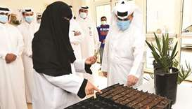 HE the Minister of Municipality and EnvironmentAbdullah bin Abdulaziz bin Turki al-Subaie during his