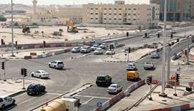 Al Wakra Souq Intersection on Al Wakra Main Road